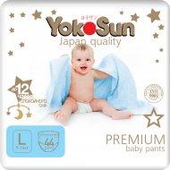 Подгузники-трусики «YokoSun» Premium, размер L, 9-14 кг, 44 шт