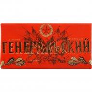 Шоколад тёмный десертный «Генеральский» 100 г.