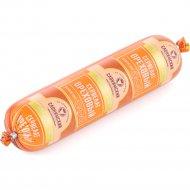Колбаса варено-копченая салями «Сервелат ореховый» 1 кг., фасовка 0.5-0.6 кг
