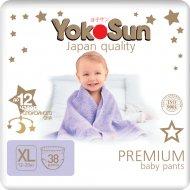Подгузники-трусики «YokoSun» Premium, размер XL, 11-20 кг, 38 шт