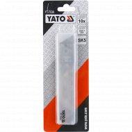 Лезвия для ножа «Yato» 25 мм, 10 шт.