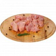Гуляш из мяса индейки, 1 кг., фасовка 1-1.4 кг