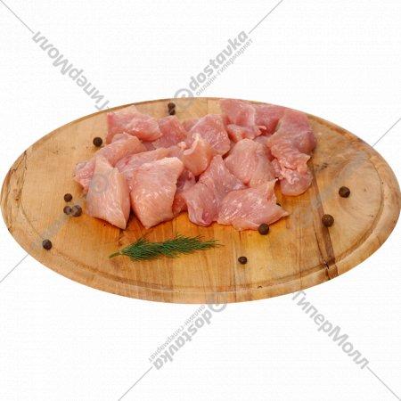 Гуляш из мяса индейки, 1 кг., фасовка 0.8-1 кг