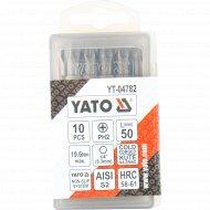 Бита крестовая «Yato» PH2x50, 10 шт.