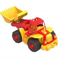 Трактор «Богатырь» мини, с грейдером.