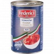Томаты резаные «Federici» в собственном соку, 400 г
