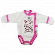 Полукомбинезон детский КЛ.110.004.0.026.005, розовый.