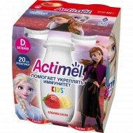 Продукт кисломолочный «Actimel» клубнично-банановый, 2.5 %, 400 г.