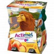 Продукт кисломолочный «Actimel» взрывной персик, 2.5 %, 400 г.