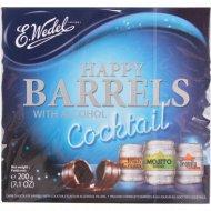 Конфеты «BARRELS COCTAIL» из темного шоколада 200 г.