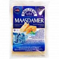 Сыр полутвердый «Maasdamer» 45%, 1 кг., фасовка 0.25-0.3 кг