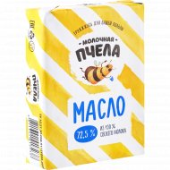 Масло сливочное «Молочная пчела» несоленое, 72.5%, 180 г