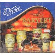 Конфеты «Barrels» в форме бочонков с алкогольной начинкой, 200 г.