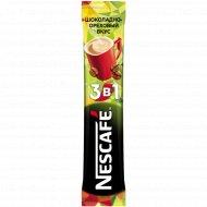 Кофейный напиток 3в1 «Nescafe» шоколадно-ореховый, 13 г.
