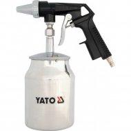 Пескоструйный пистолет «Yato» c нижним бачком.