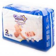 Подгузник детский «Cheris» S, размер 2, 4-8 кг, 30 шт