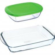 Набор посуды «Pyrex» Блюдо для запекания 35х23 см, емкость 1.1 л