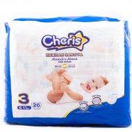 Подгузник детский «Cheris» M, размер 3, 6-11 кг, 26 шт
