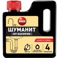 Средство для прочистки труб «Bagi» Шуманит, 280 г