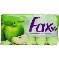 Туалетное мыло «Fax» яблоко, 5х70 г.