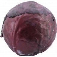 Капуста краснокочанная свежая 1 кг, фасовка 1.4-1.8 кг