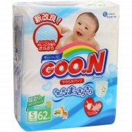 Подгузники «Goo.N» размер S, 5-9 кг, 62 шт.