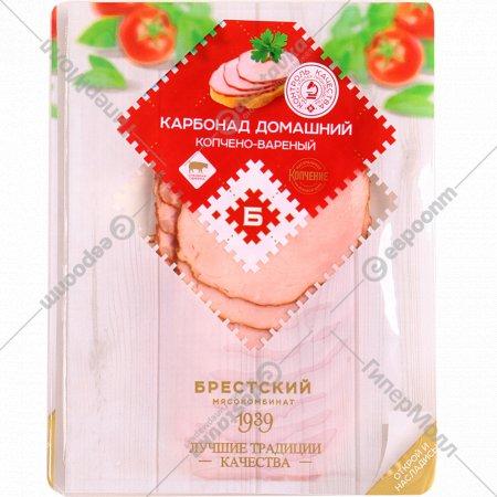 Продукт из свинины «Карбонад Домашний» копчено-вареный, 90 г.