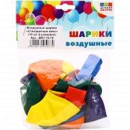 Воздушные шарики «Стандартные микс» SM1-12-10, 10 шт.