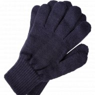 Перчатки мужские черные, размер 22.