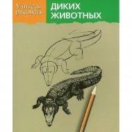 Книга «Учитесь рисовать диких животных» Браун Д.