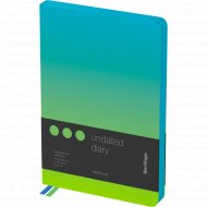 Ежедневник недатированный «Radiance» A5, 136 листов.