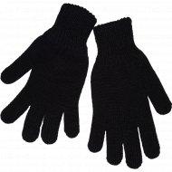 Перчатки женские черные, размер 18.