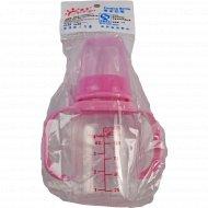 Бутылочка для кормления c ручками, 125 мл.