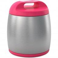 Термос для еды «Chicco » розовый, 350 мл.