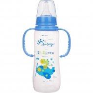 Бутылочка для кормления, голубая, 240 мл.