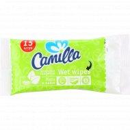 Салфетки влажные «Camilla» мята и лайм, 15 шт.