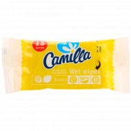 Влажные салфетки «Camilla» лимон, 15 шт.