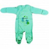Комбинезон детский КЛ.310.001.0.120.005, зеленый.