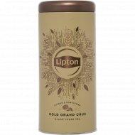 Чай черный «Lipton» Gold Grand Crus, листовой, 75 г.