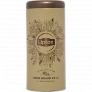Чай черный «Lipton» Gold Grand Crus, листовой, 75 г.