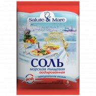 Соль пищевая «Salute di Mare» мелкая, 0.6 кг.