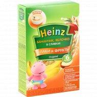 Пудинг в сливках «Heinz» злаки и фрукты, 200 г.