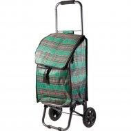Тележка хозяйственная «Клетка» с сумкой, 30 кг.