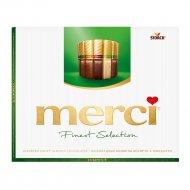 Набор конфет «Merci» ассорти с миндалём, 4 вида, 250 г