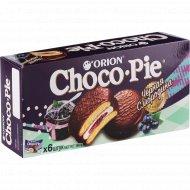 Печенье-бисквит «Чоко Пай Орион» Черная Смородина, 6х30г 180г