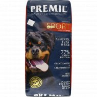 Корм для собак «Premil» спорт, 15 кг.