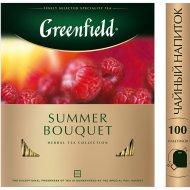Чай «Greenfield» летний букет, 100 пакетиков.