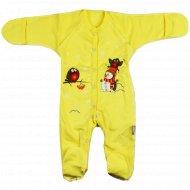Комбинезон детский КЛ.310.009.0.059.055, желтый.