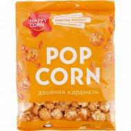 Воздушная кукуруза «Happy Corn» двойная карамель, 80 г