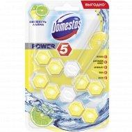 Блок для унитаза «Domestos» свежесть лайма, 2х55 г.